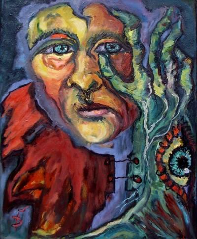 Poza Copacul pictorului suprarealist