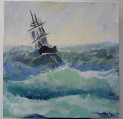 Poza Corabie in furtuna