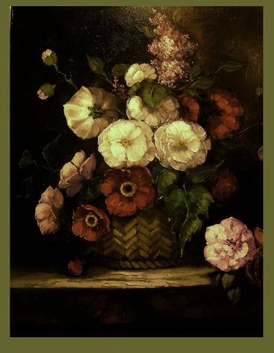 Poza cos cu flori