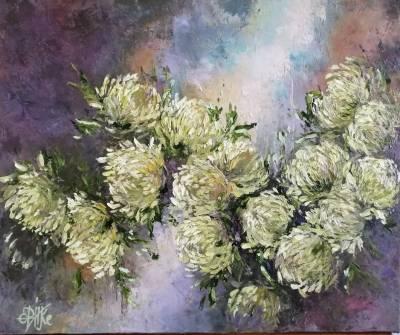Poza Crizanteme albe