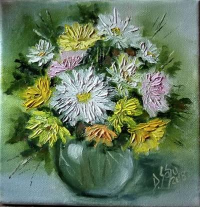 Poza Crizanteme pastelate II