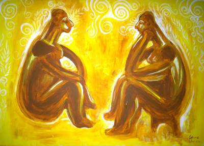 Poza Cultura hamangia - ganditorul si fe