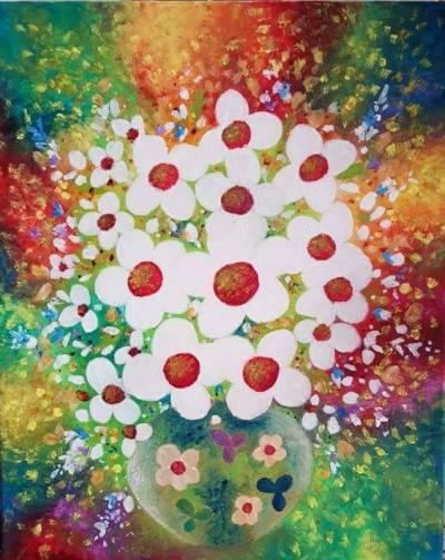 Poza Curcubeu floral