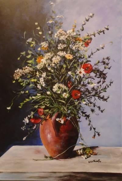 Poza Decor cu flori de camp ...