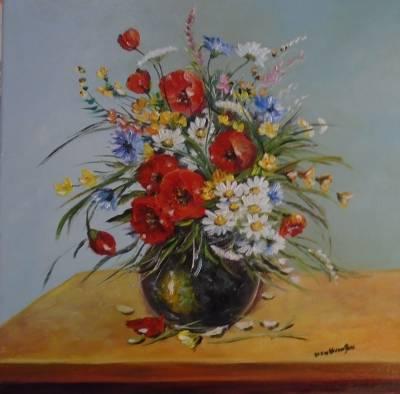 Poza Decor cu flori de camp....
