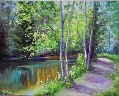 Poza Drumul spre lac