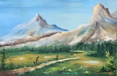 Poza Drumul spre munte
