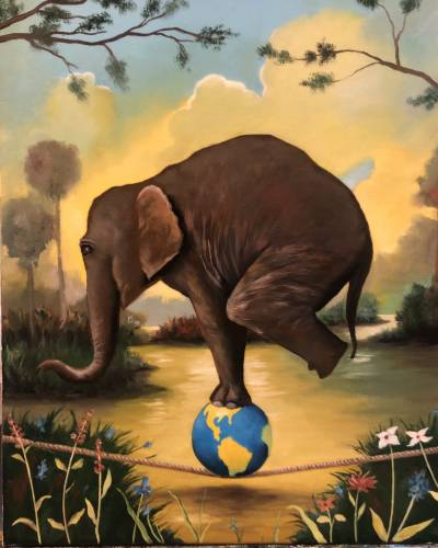 Poza Elefantul imposibil