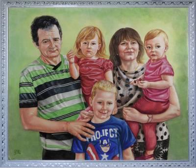 Poza Familie din 5 persoane