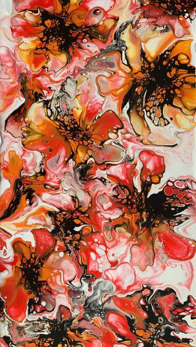 Poza Flori abstracte