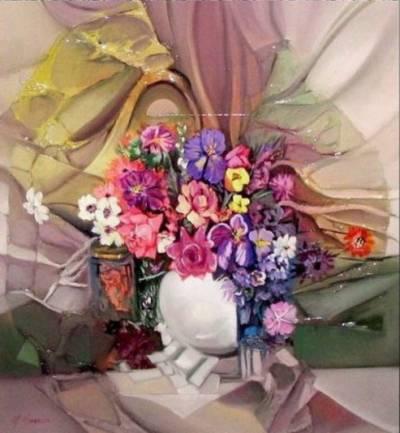 Poza flori abstracte  7xx