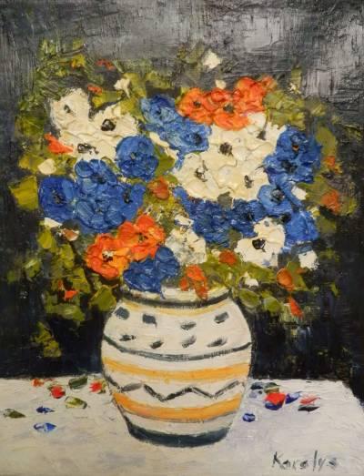 Poza Flori albastre