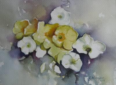 Poza Flori albe, flori galbene...