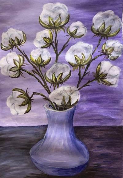 Poza Flori de bumbac