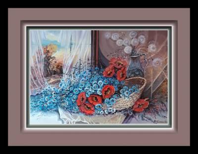 Poza Flori de camp in zori de zi --zz11