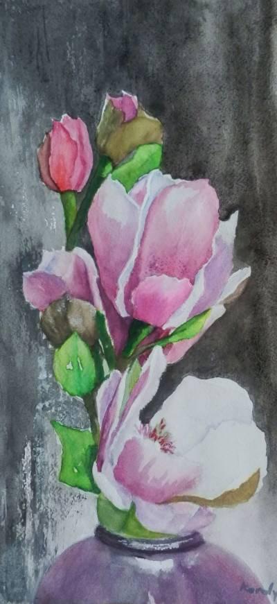 Poza Flori de magnolie