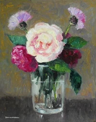 Poza flori din gradina
