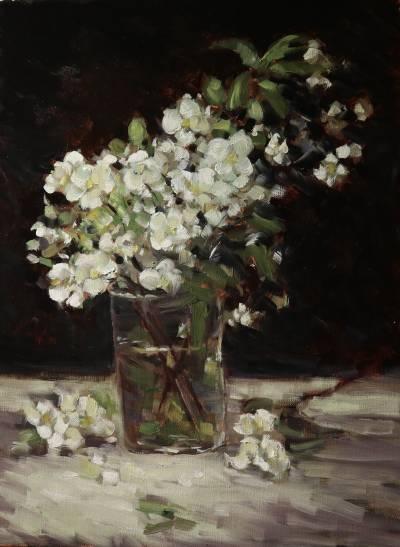 Poza Flori in pahar