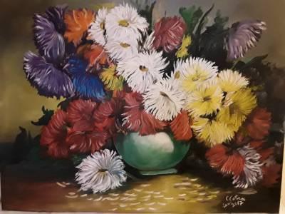 Poza flori și uimire
