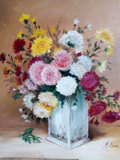 Poza floricelele toamnei