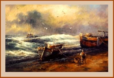 Poza furtuna pe mare 3