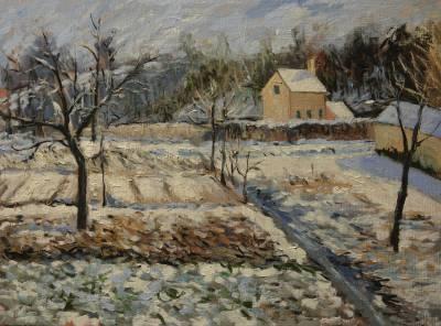 Poza Iarna lui Pissarro 1