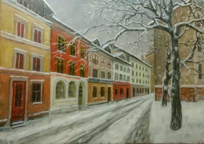 Poza iarna prin oras 2018