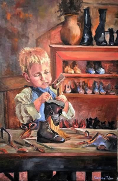 Poza In atelierul bunicului