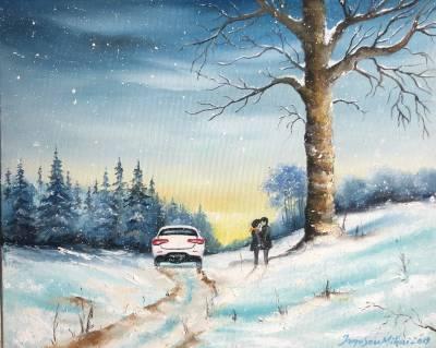 Poza Indragostiti in iarna