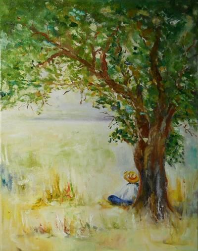 Poza la umbra copacului