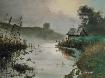 Poza Lacul de langa casa ....