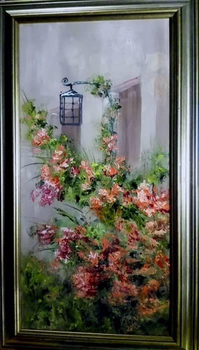 Poza Lampa de langa fereastra
