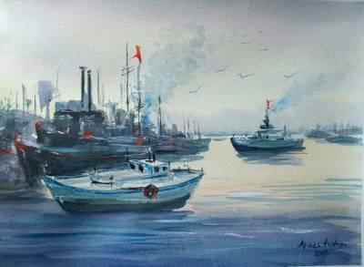 Poza langa port