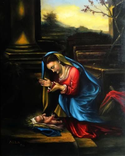 Poza Maica Domnului cu Pruncul