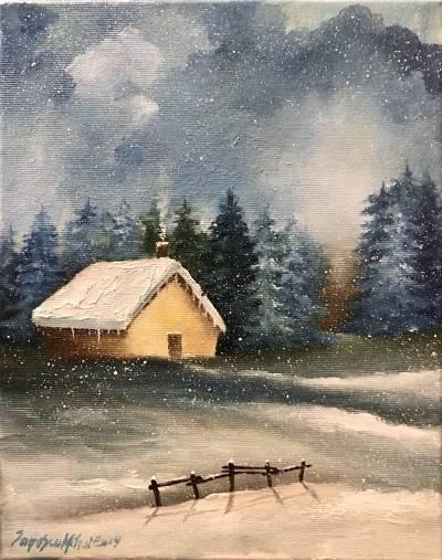 Poza Mic peisaj de iarna