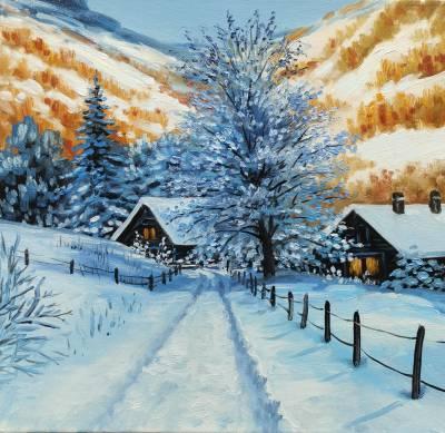 Poza Montana de iarna 2020