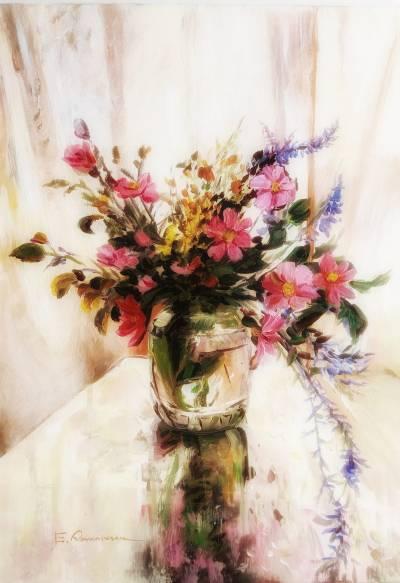 Poza Nalba de padure si flori de camp va