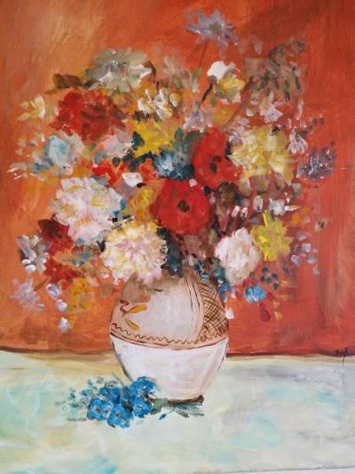 Poza Natura statica cu flori de toamna