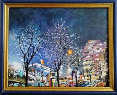 Poza Noapte de iarna in Bucuresti