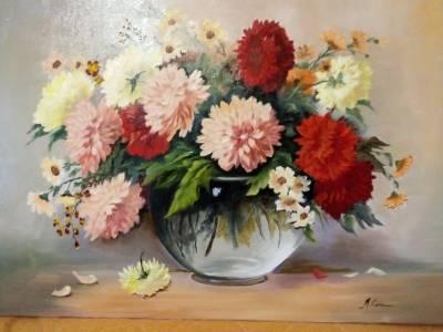 Poza O vaza cu flori