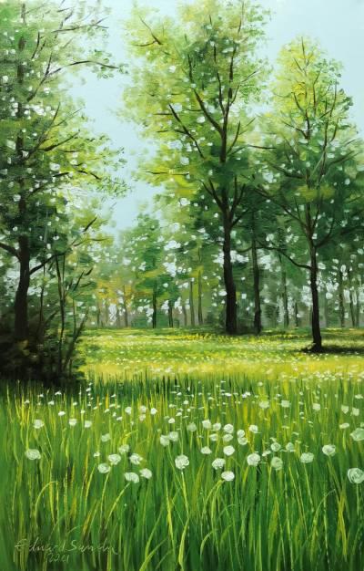Poza Parcul in mai 2021