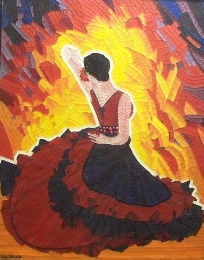 Poza PASSION FLAMENCO - mozaic artistic