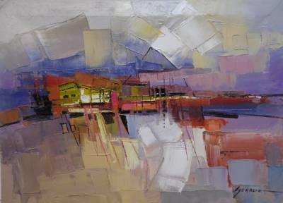 Poza peisaj  abstract   iii