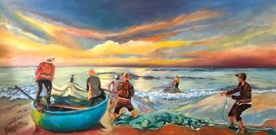 Poza Pescari la rasarit