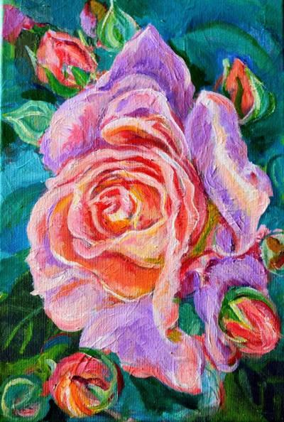 Poza Pink rose