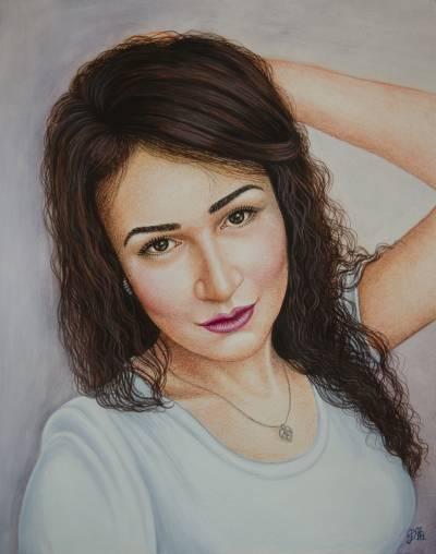 Poza Portret de domnișoară