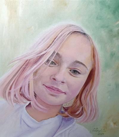 Poza Portret de fata