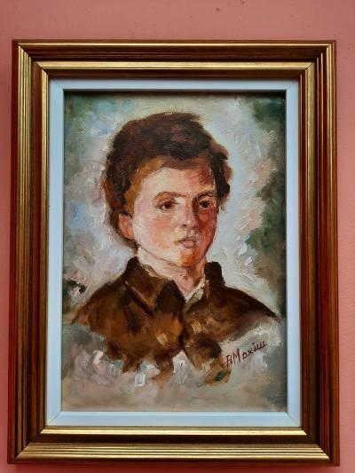 Poza Portret dupa N. Grigorescu