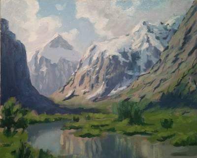 Poza Primavara in munti