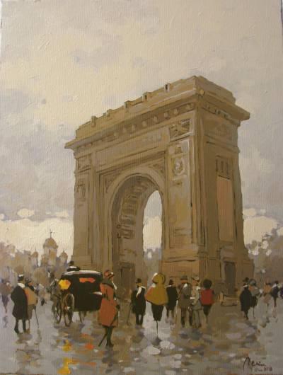 Poza Prin vechiul Bucuresti, Arcul de Tr